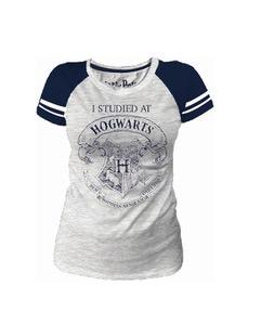 T-shirt Enfant Poudlard Blanc