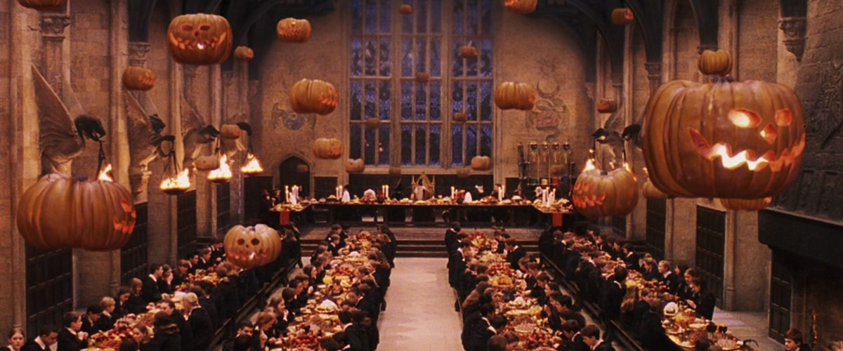 """Acheter des produits Harry Potter pour Halloween"""" blog - Halloween à Poudlard - La Grande Salle"""