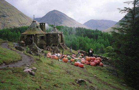 Cabane Hagrid - article vêtements Harry Potter pour l'hiver