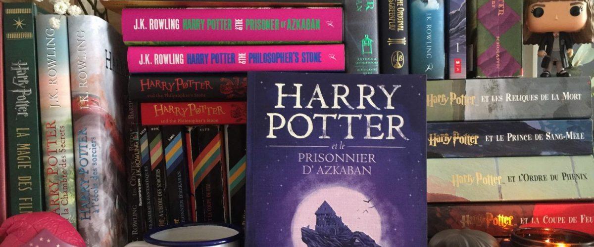 Photo Pinterest - Collection livres Harry Potter