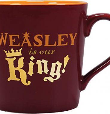 """Mug - """"Weasley est notre Roi"""" Quidditch"""