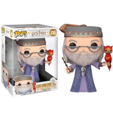 POP n°110 25 cm d'Albus Dumbledore et Fumseck son Phénix