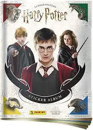 Album Panini - Harry Potter, Hermione Granger et Ron Weasley