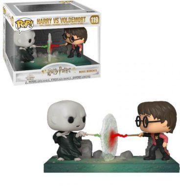 Combat entre Voldemort et Harry pendant le Tournois des Trois Sorciers