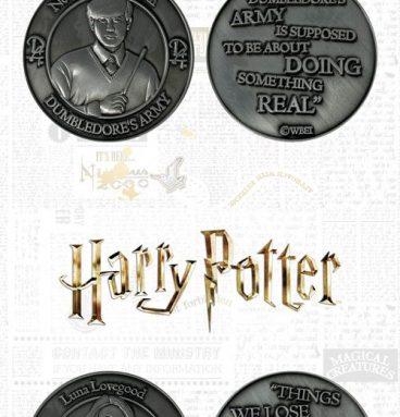 Pack Pièces de collection - édition limité - Neville et Luna avec citations