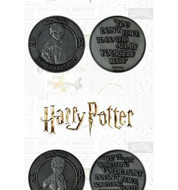 Pack pièce de collection Harry et Ron pendant l'AD