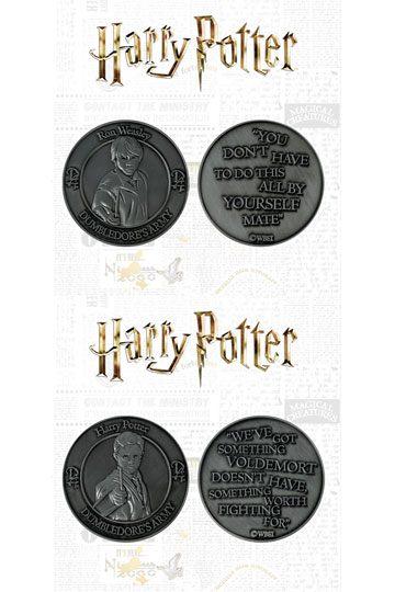 Pack pièce de collection Harry et Ron pendant l'AD