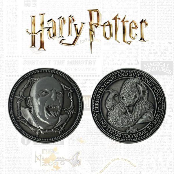 Pièce édition limitée - Lord Voldemort et Nagini