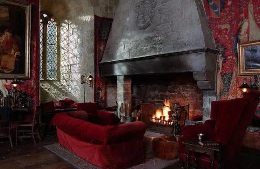 Salle commune de Gryffondor - Harry Potter