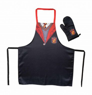 Kit cuisine uniforme Gryffondor : Tablier et gant
