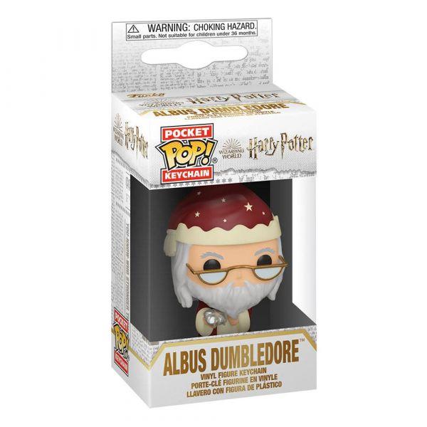 Porte clé POP Dumbledore Noël