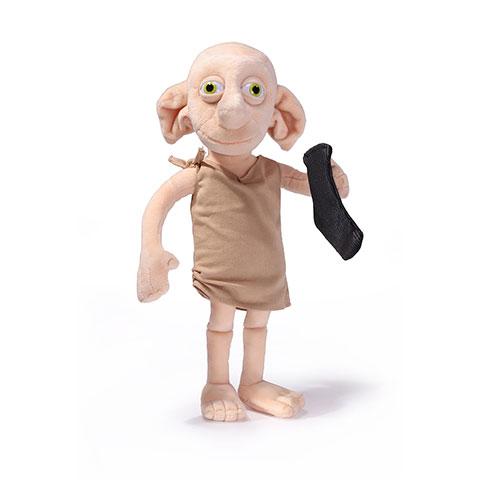 Peluche interactive - Dobby avec une chaussette