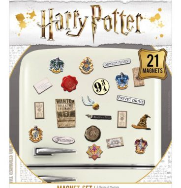 Magnets Harry Potter - lot de 21