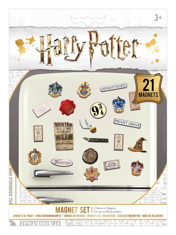 Magnets Harry Potter - lot de 21