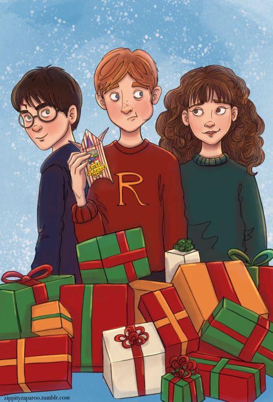 Trio - Harry Potter à Noël