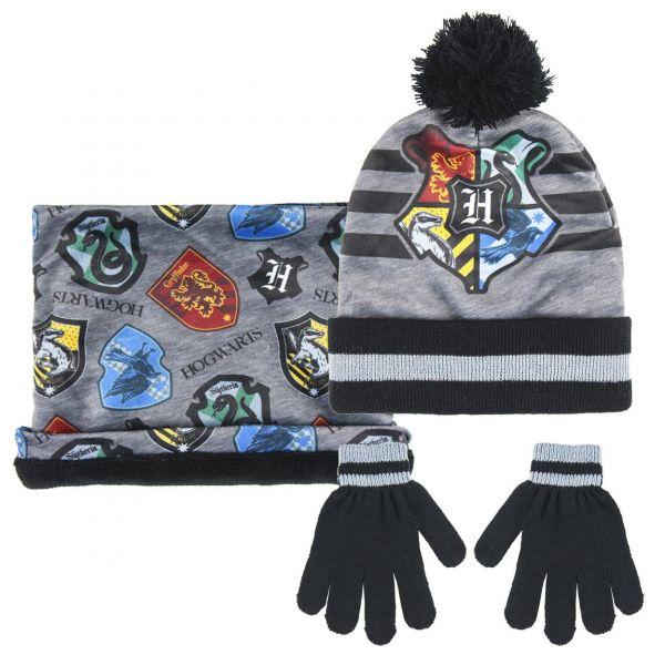 Ensemble gants/tour de cou/bonnet