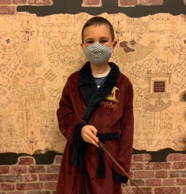 Peignoir Hogwarts Enfant