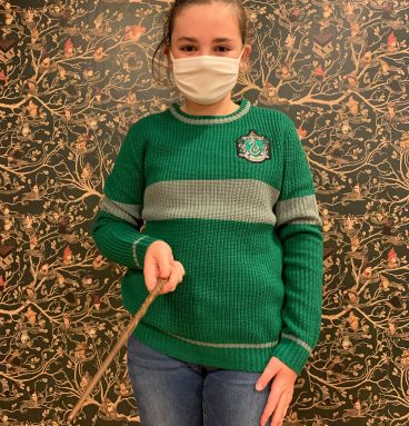 Pull Quidditch enfant - Serpentard
