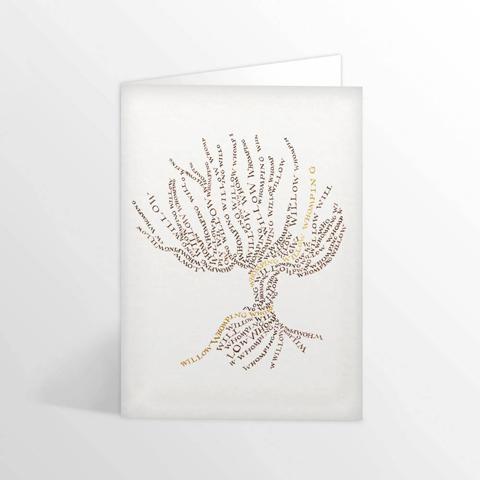 Carte postale - Saule Cogneur