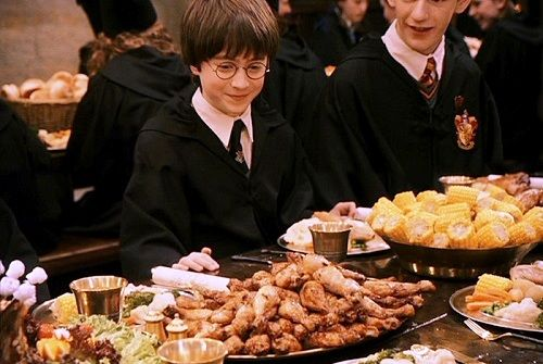 Festin de Poudlard - article recettes de Noël Harry Potter
