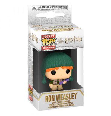 Porte clé POP Ron Weasley vacances