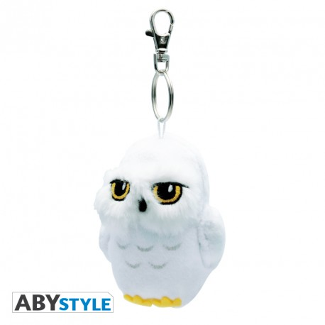 Porte-clés peluche Hedwige