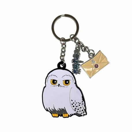 Porte-clés métal Hedwige