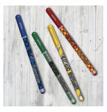Set de 4 stylo gel - 4 maisons