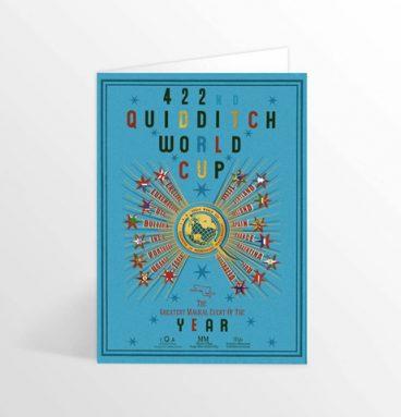 Carte postale coupe du monde de quidditch
