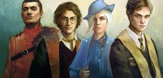 les 4 Champions Harry Potter et la Coupe de feu - produits dérivés