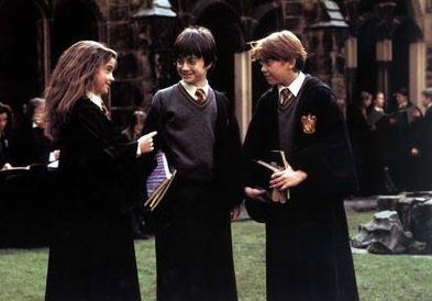 Notre Trio d'or - goodies Harry Potter