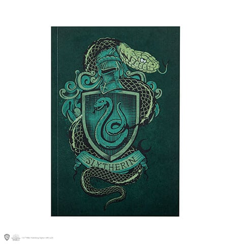 Carnet 128 pages - Serpentard