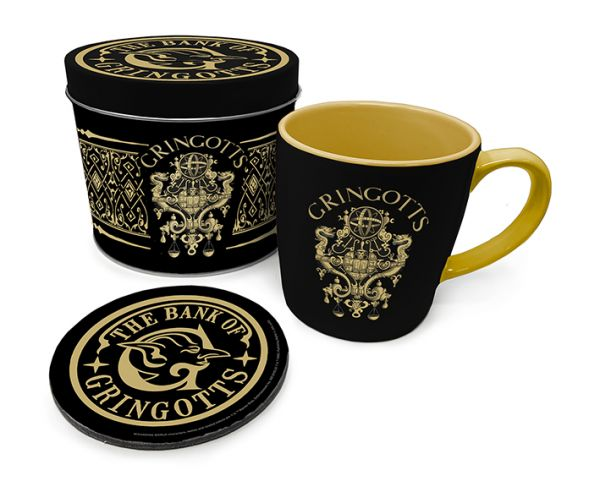 Mug Gringotts Boite métal avec couvercle