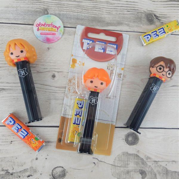 Bonbons PEZ personnages Harry Potter