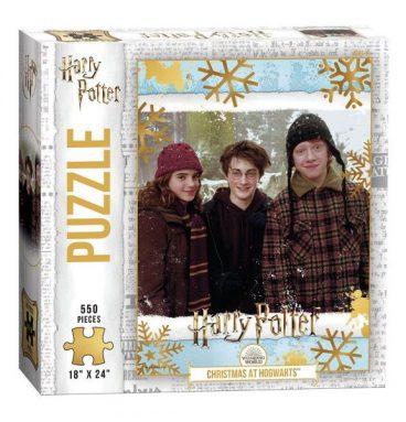 Puzzle 550 pièces Christmas at Hogwarts