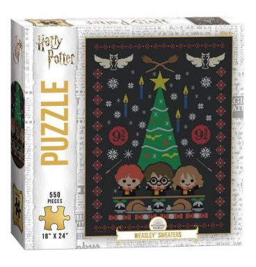 Puzzle 550 pièces Weasley Sweaters