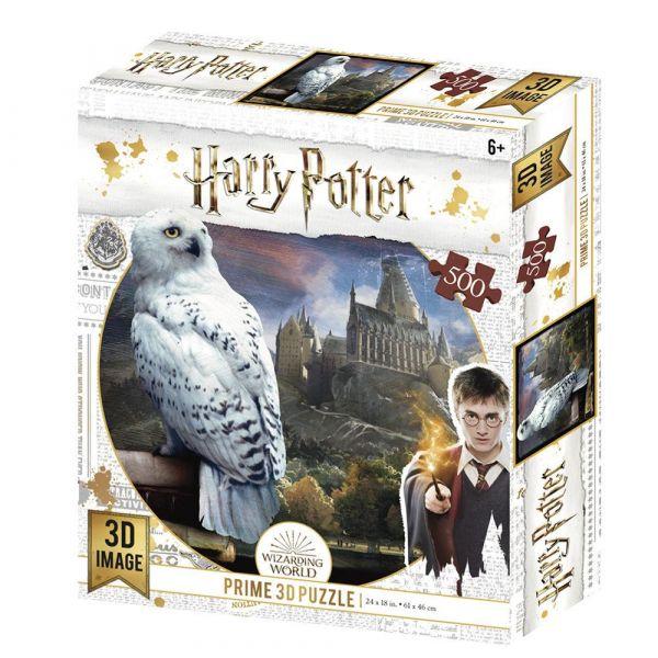 Puzzle image en 3D Hedwige (500 Pcs)