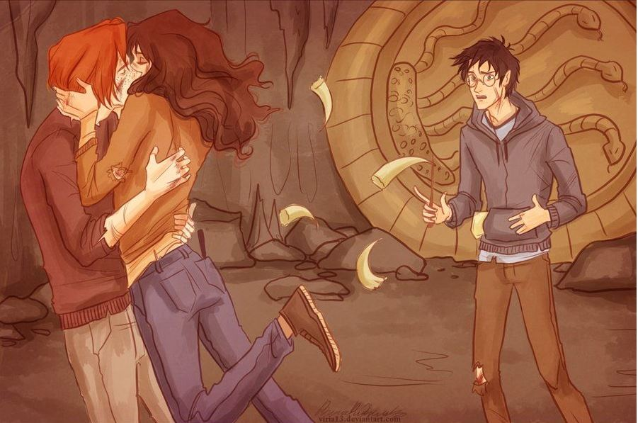 Idées cadeaux St Valentin : Ron et Hermione