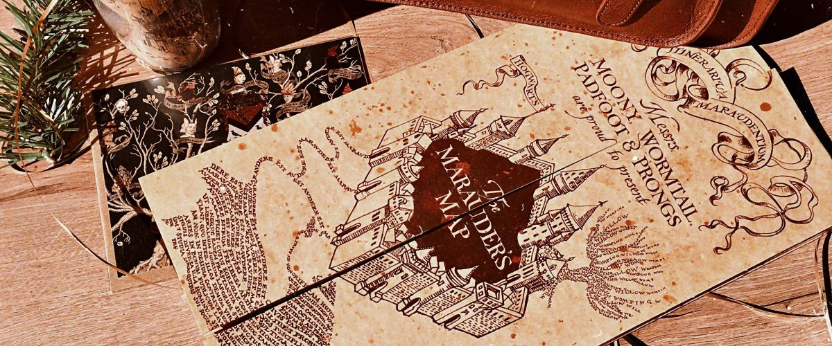 Carte du Maraudeur - Harry Potter produits dérivés