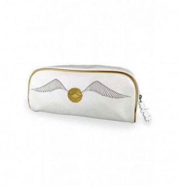 Trousse de toilette vif d'or (28 x 12 x 12 cm)