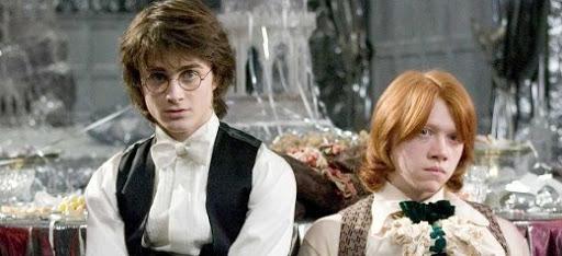 Harry et Ron au bal de Noël : Idées cadeaux St Valentin