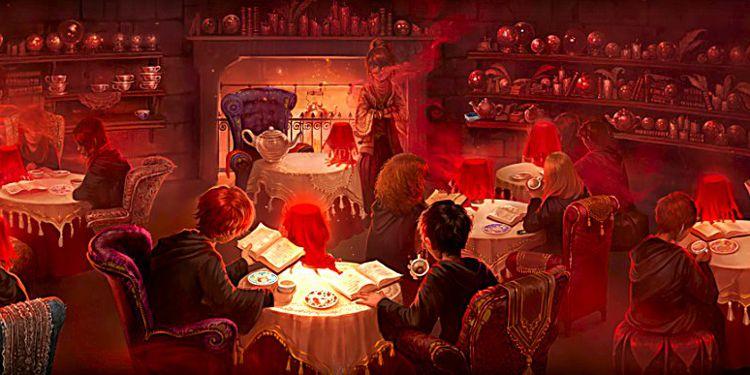 SAlle de classe harry potter divination