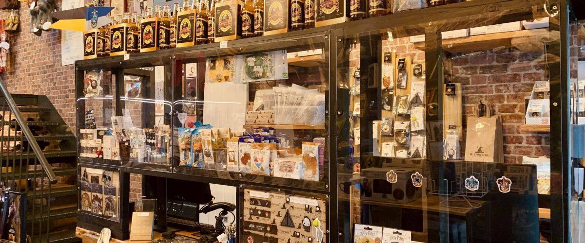 Au Comptoir des Sorciers Rennes - déco Harry Potter