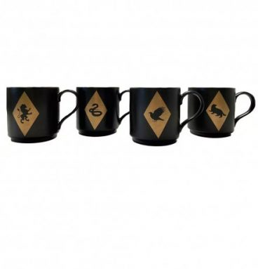Lot de tasses empilables poudlard