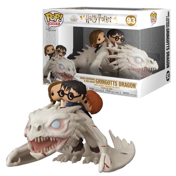 POP N°93 - Dragon Harry Hermione Ron