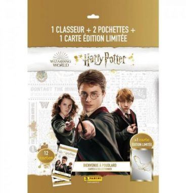 Pack de démarrage classeur + cartes panini - Harry Potter