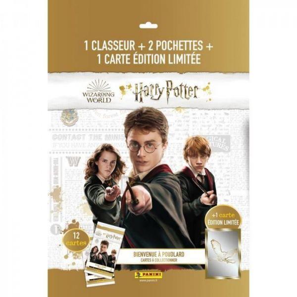 Pack de démarrage classeur + cartes panini - Harry Potter