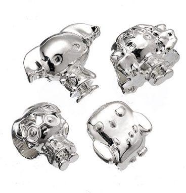 Set de 4 perles Chibi