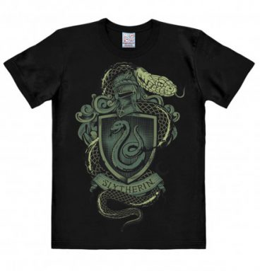 T shirt noir armoirie de serpentard