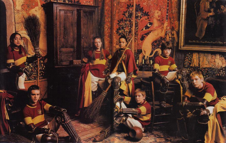 Première équipe de Gryffondor Quidditch